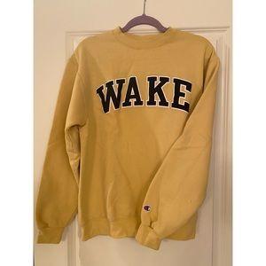 Wake Forest Champion Sweatshirt Size Medium